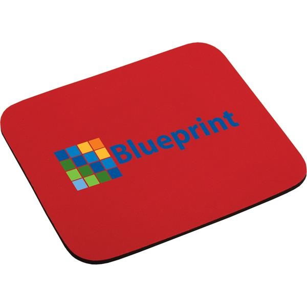 "Custom Targetline 1/4"" Thick Economy Mouse Pad"