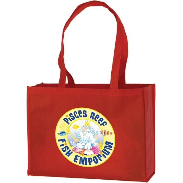 Printed Large Tote Bag
