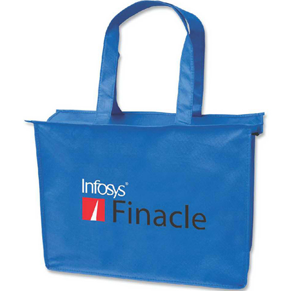 Customized Medium Zipper Tote Bag