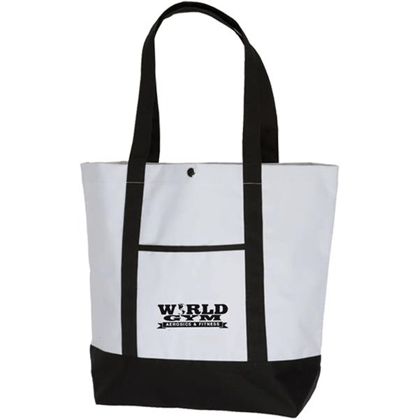 Personalized Deluxe Pocket Fashion Tote