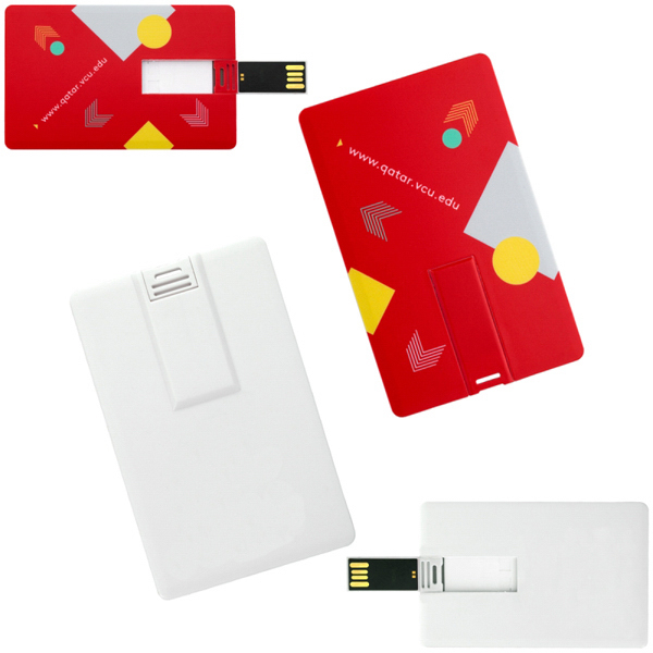 Personalized 2G Credit Card USB Drive