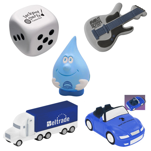 Promotional Custom Shape Stress Ball