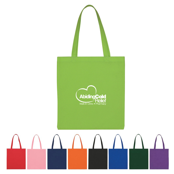 Printed Custom Non-Woven Economy Tote Bag