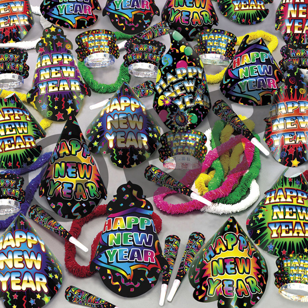 Customized Grand New Year's Eve Party Kit for 100