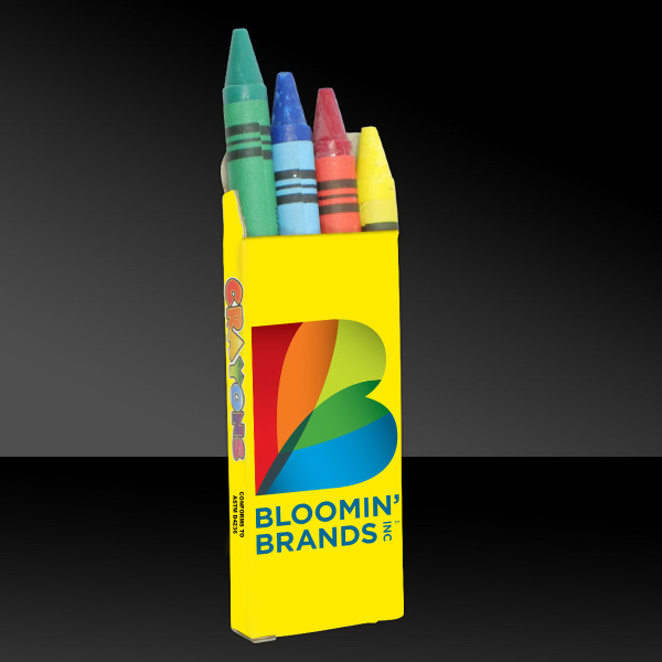 Personalized Crayon 4 Packs