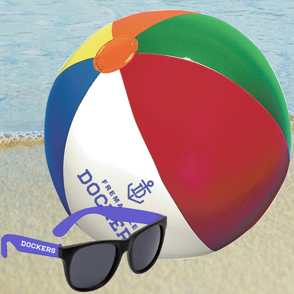 Imprinted BALL SUNGLASSES KIT