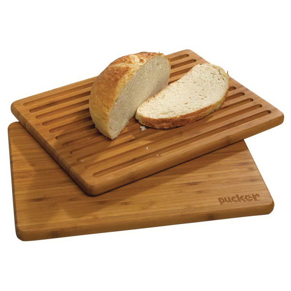 Printed Flip-It Bamboo Cutting and Bread Board