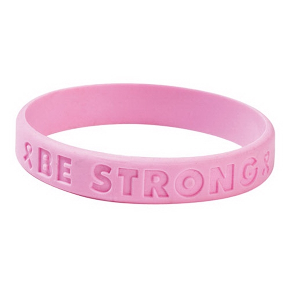 Promotional Be Strong Stock Awareness Bracelet