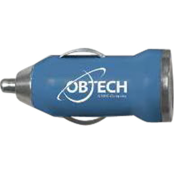 Personalized Blue USB Car Charger