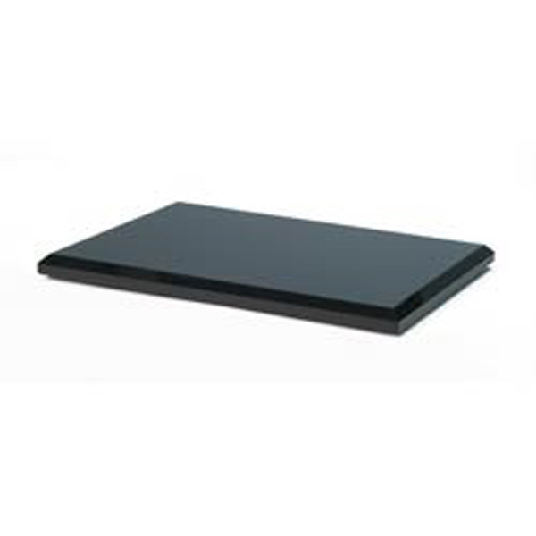 Personalized Long Rectangle Black Glass Award Base