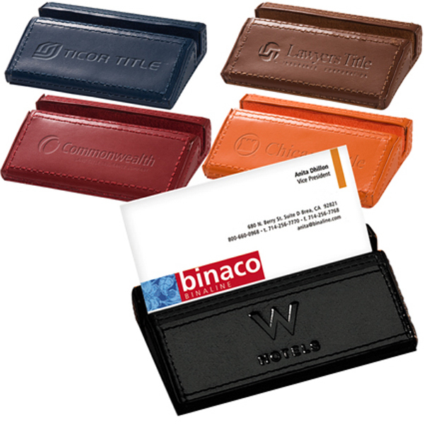 Printed Clearance Soho Desk Business Card Holder