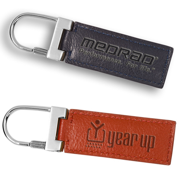 Printed Clearance City Hall Metal Clasp Key Fob