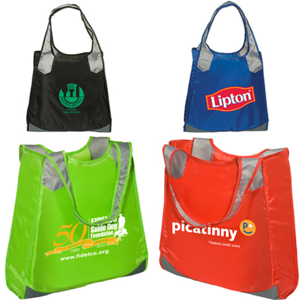 Custom Clearance Two-Tone Grocery Tote