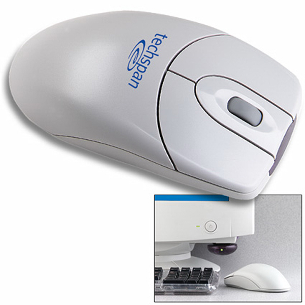 Imprinted Clearance Wireless Stick-E-Mouse (RF)