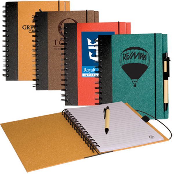 Imprinted Clearance Eco Journal Book Combo