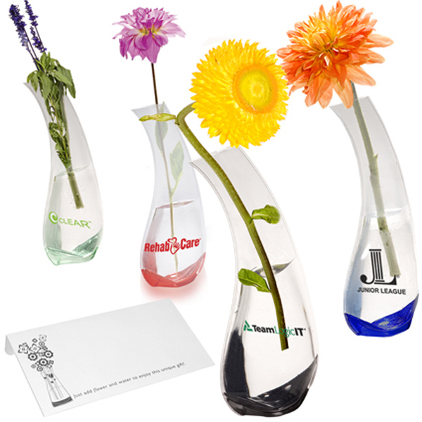 Custom Clearance Bud Flexi-Vase (R)