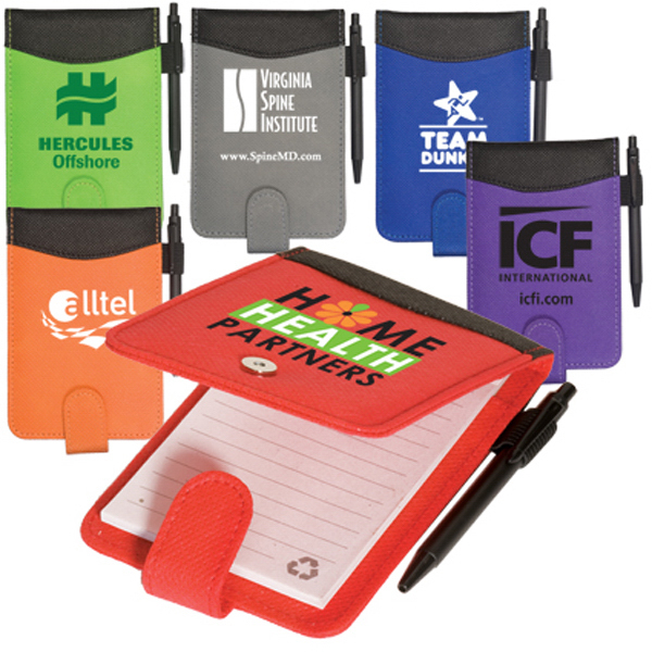 Imprinted Clearance Pocket Enviro-Jotter