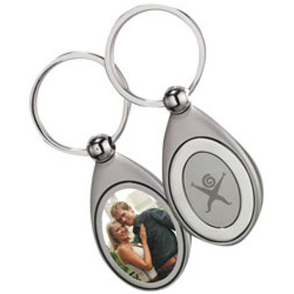 Custom Pocket Picture Keytag