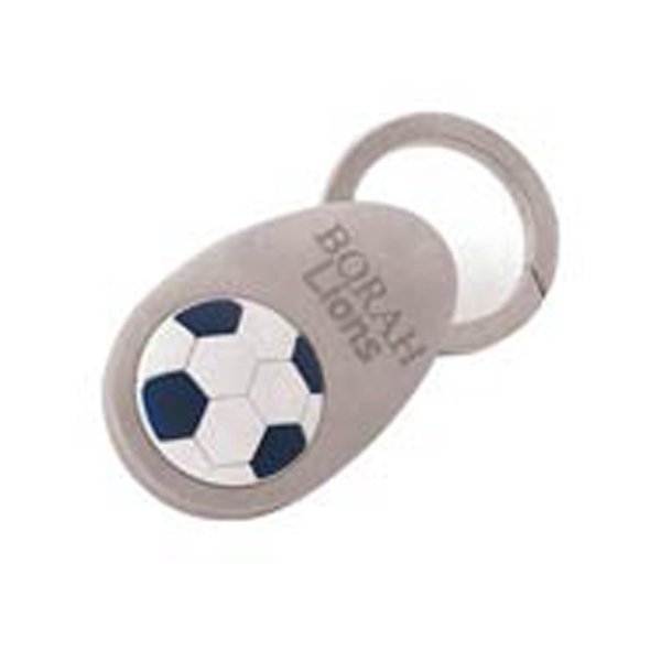Customized Soccer Keytag