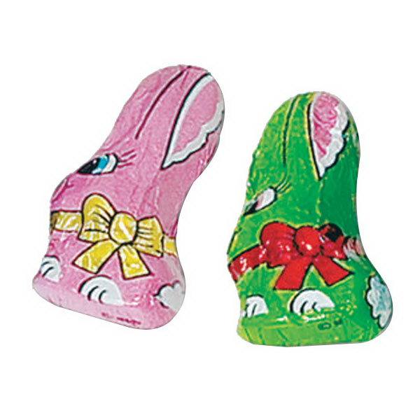 Promotional Chocolate Foil Wrapped Mini Bunnies