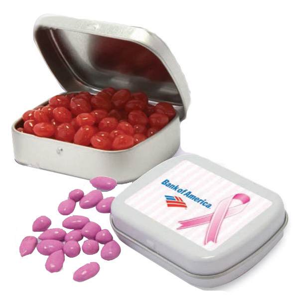 Printed Mini Mints Candy in small imprinted  pocket tin