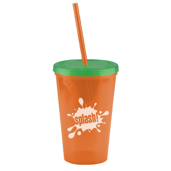 Personalized The Pioneer 16 oz Insulated Straw Tumbler