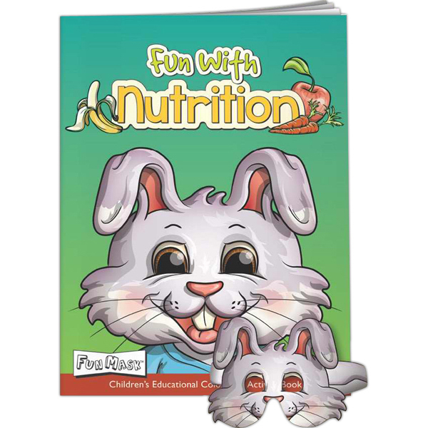 Promotional Fun Masks - Fun with Nutrition
