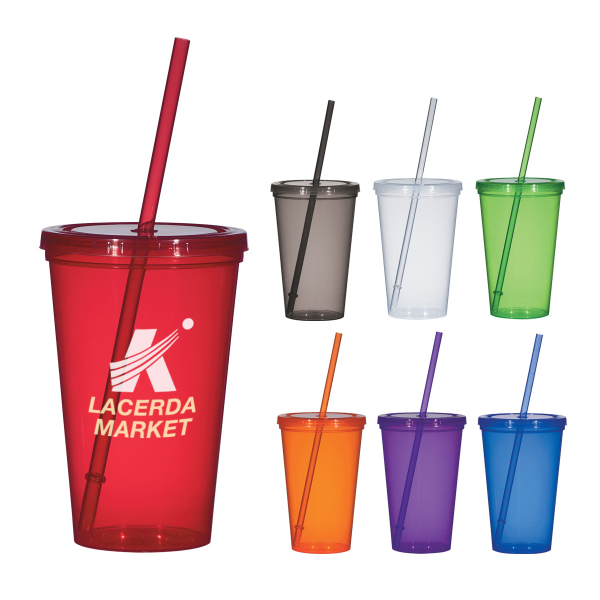 Promotional 20 oz. Economy Single Wall Tumbler