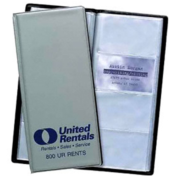 Personalized 8 View Business Card File