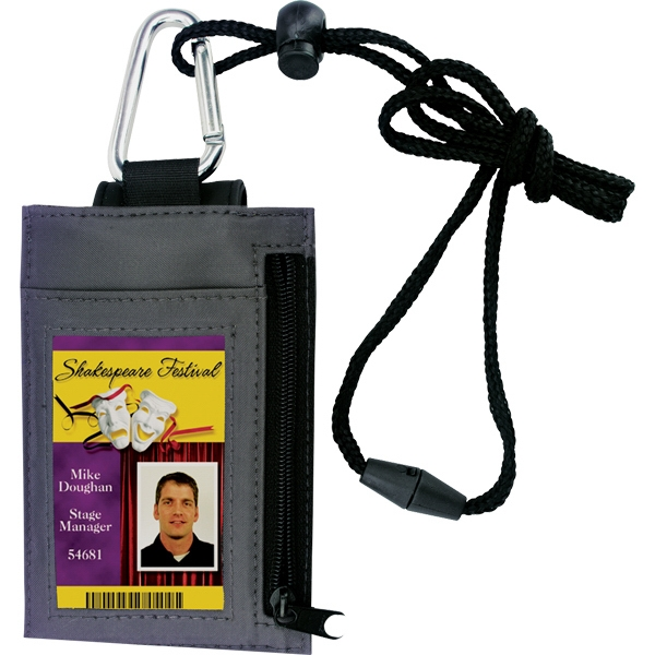 Promotional Phone Mate Cell Phone ID Holder