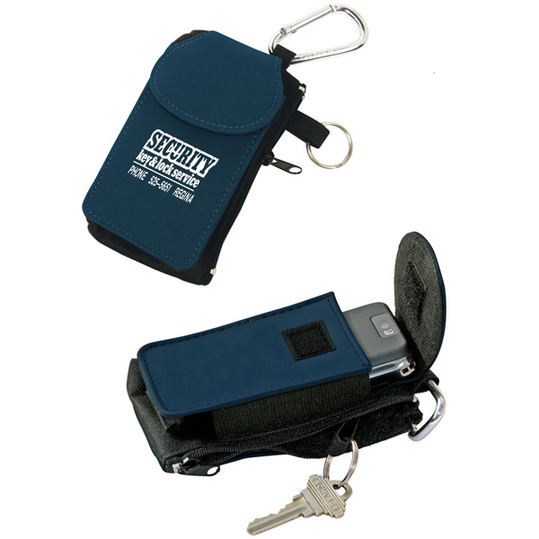 Customized All In One Cell Phone Holder with Coin and Key Pouch