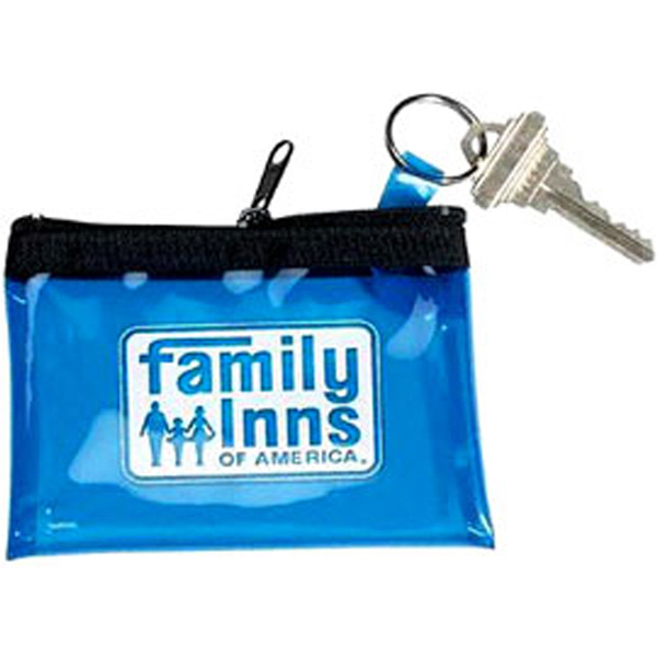 Personalized Palomino - Translucent Vinly Coin/Key Pouch with Key Ring