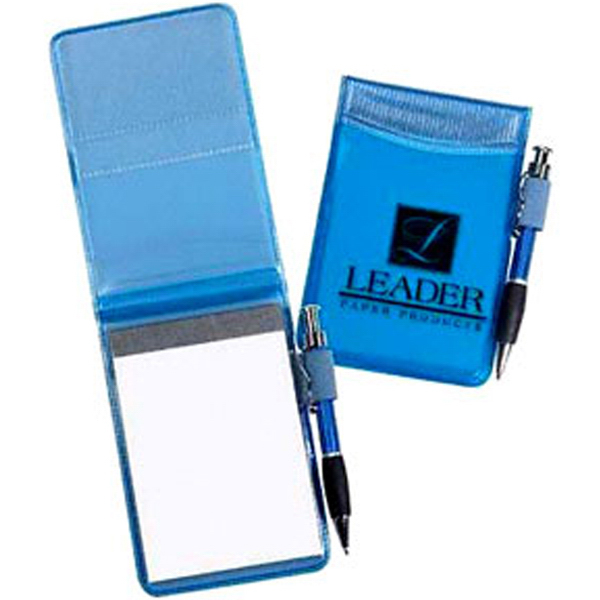 Custom Tiny Tango - Clear Color Vinyl Pocket-Size Jotter Pad