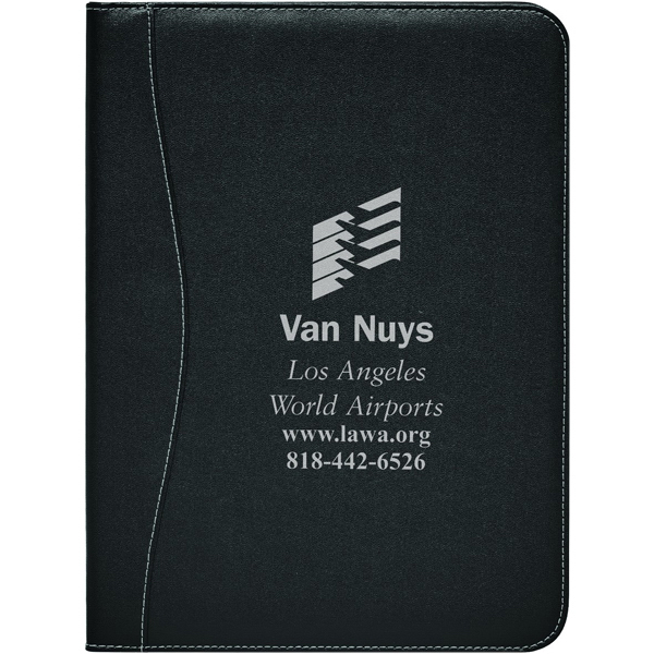 Personalized Executive - Stitched PVC Standard Size Padfolio