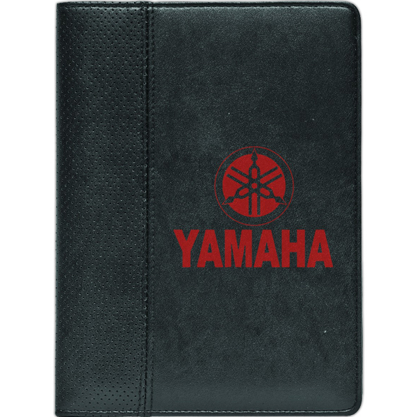 Personalized Wilshire - Perforated PVC Junior Padfolio