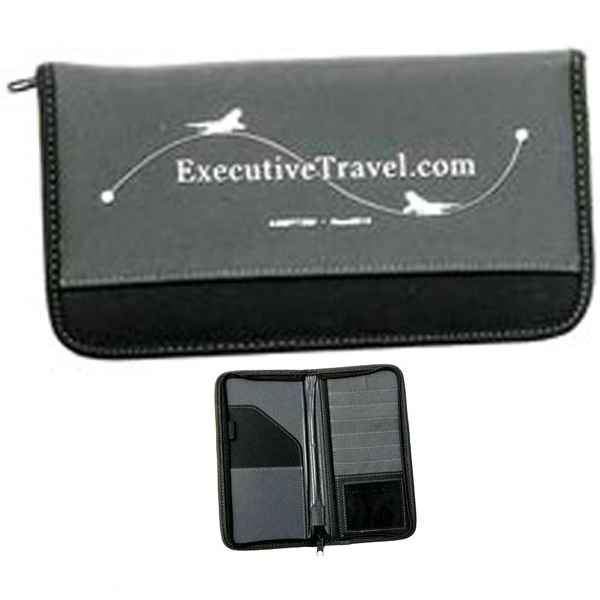 Promotional London Delxue Travel Kit Document Case