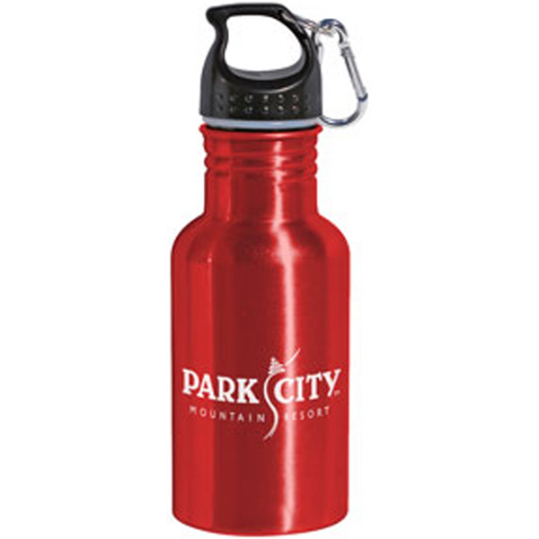 Custom Wide mouth aluminum bottle