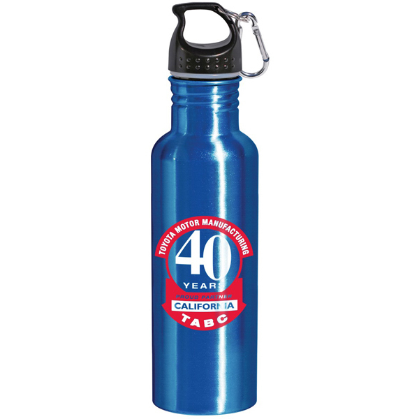 Custom Duke 28 oz. Wide Mouth Aluminum Bottle