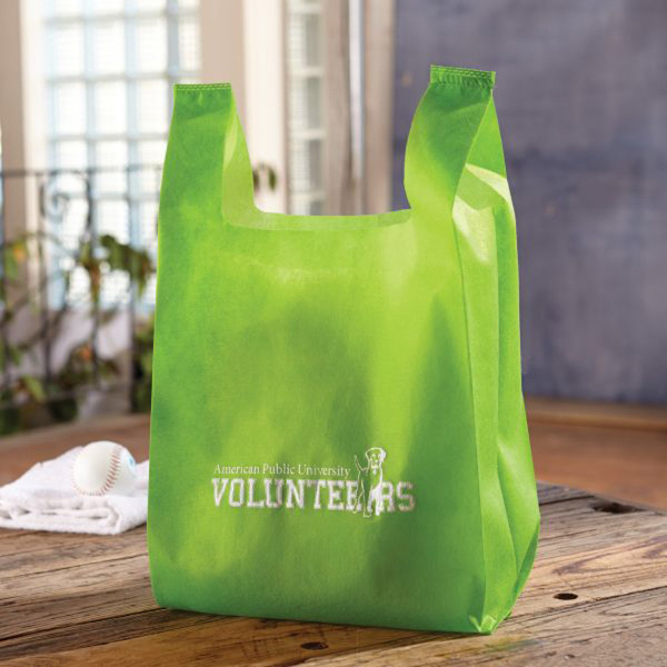Printed Mahalo Lightweight Grocery Bag - Non-Woven