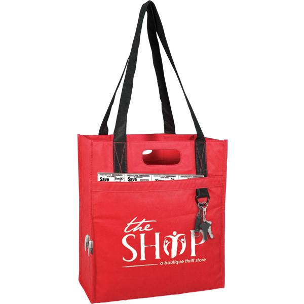 Promotional Tote with Key Ring