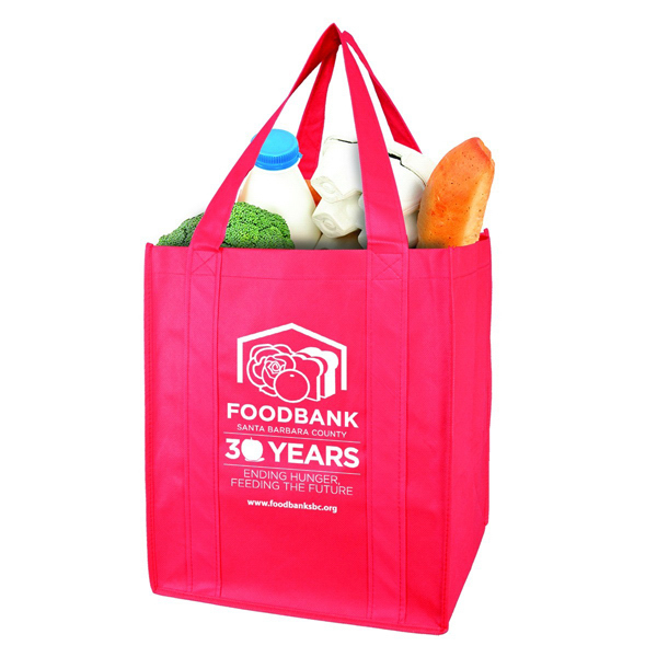 Promotional Mishka Oversized Grocery Bag - Non-Woven