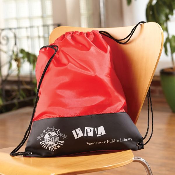 Printed Polaris Deluxe Drawstring Backpack
