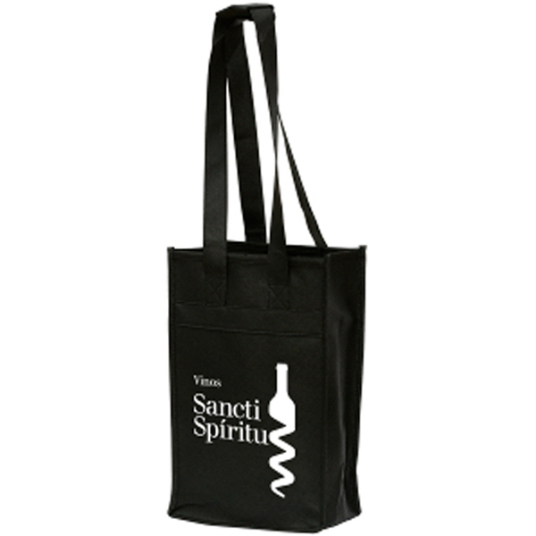 Printed Rioja 2 Wine Bottle Carrier - Non-Woven