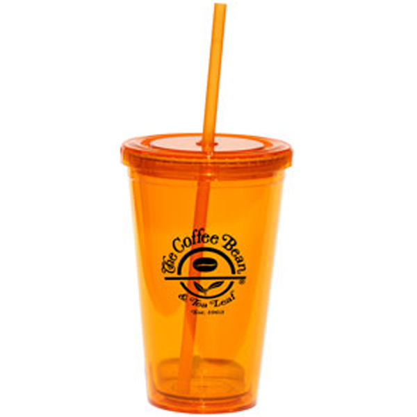 Custom Glacier 16 oz. Double Wall Translucent Acrylic Tumbler