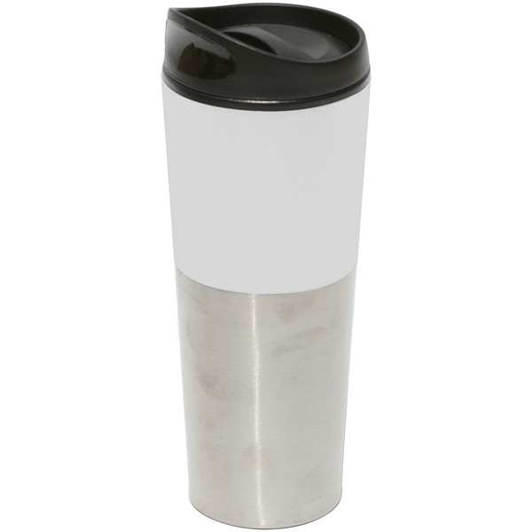 Imprinted Bayport 20 oz. Stainless Steel/Plastic Travel Tumbler