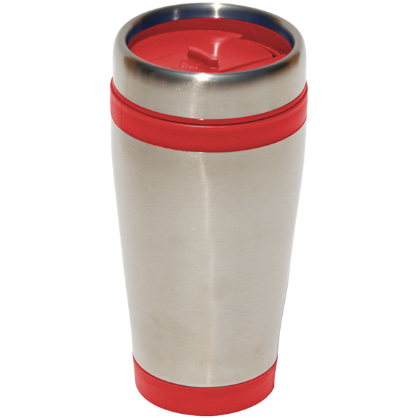 Promotional Odyssey 16 oz. Stainless Steel/Plastic Travel Tumbler