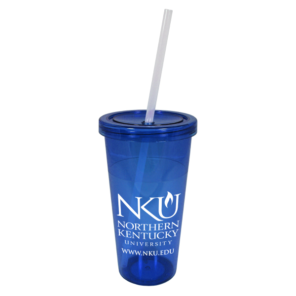 Imprinted Carnival 24 oz. Single Wall Acrylic Tumbler