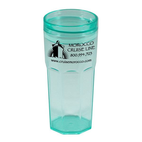 Promotional Casablanca 18 oz. Single Wall Plastic Tumbler
