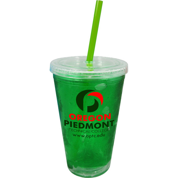 Printed 16oz Double Wall Quick Freeze Tumbler