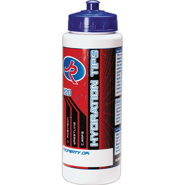 Custom Marina 32 oz. Thirst Quencher Sports Bottle